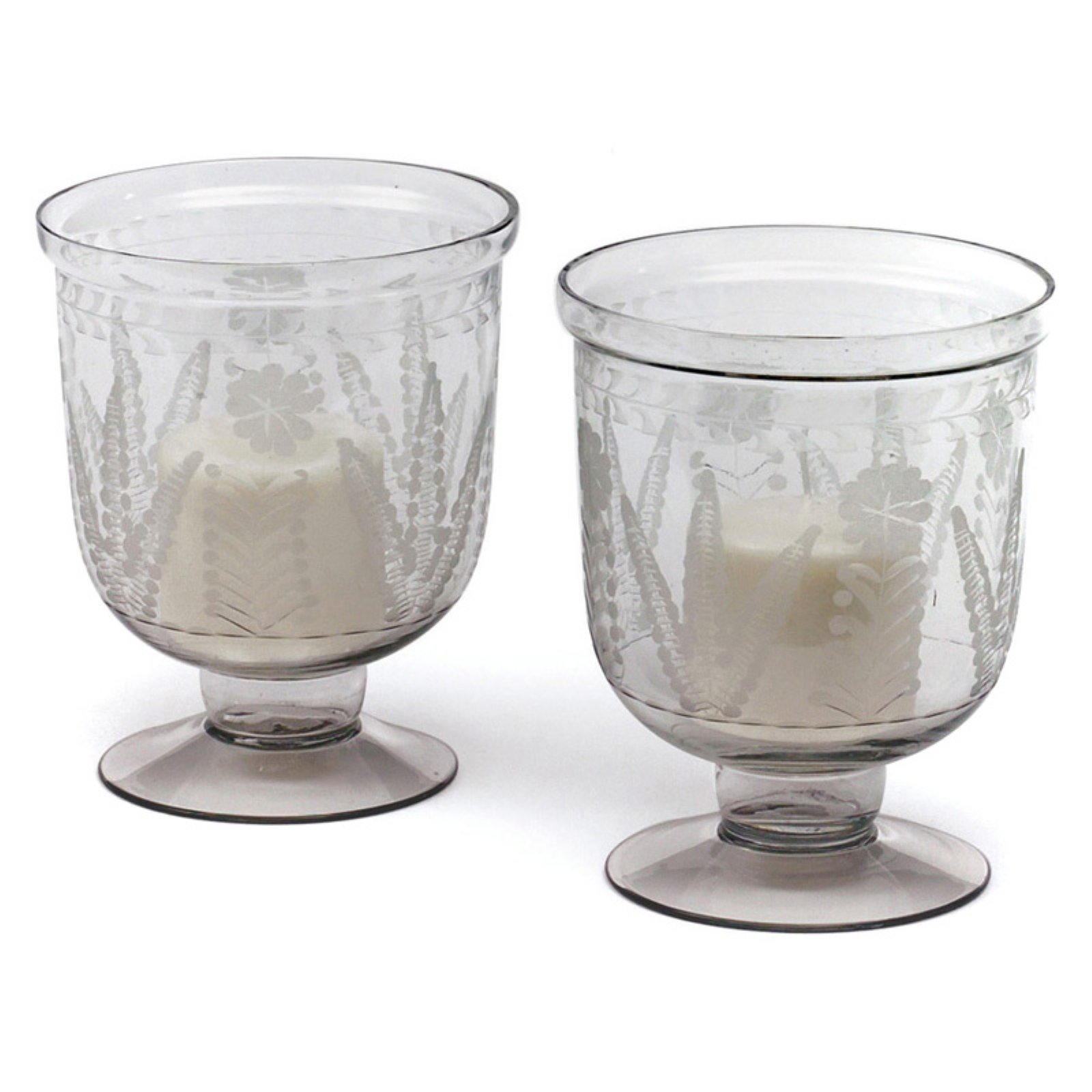 Hip Vintage Grasse Hurricane Candle Holder - Set of 2