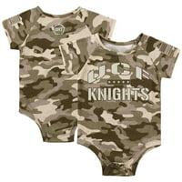 UCF Knights Colosseum Newborn & Infant OHT Military Appreciation Desert Camo Raglan Bodysuit - Camo