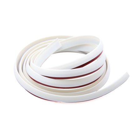 White Rubber Seal Door Edge Guard Mold Trim Protection Strip for Car (Rubber Car Trim)