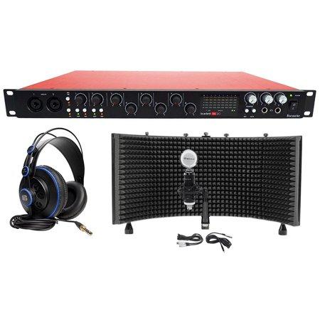 focusrite scarlett 18i20 2nd g usb 2 0 audio interface headphone mic foam shield. Black Bedroom Furniture Sets. Home Design Ideas