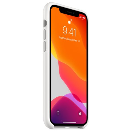 iPhone 11 Pro Silicone Case - White