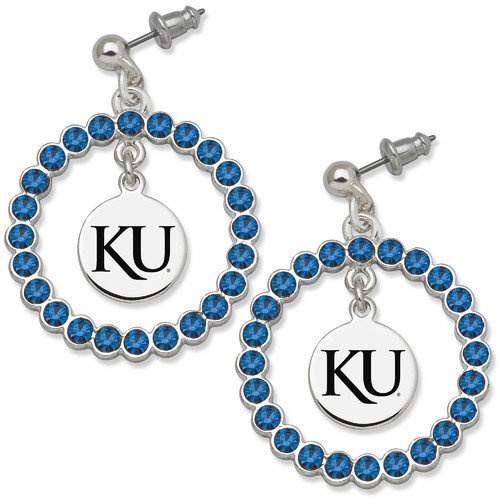 University of Southern California UNIV OF SOUTHERN CALI SPIRIT CRYSTAL WREATH EARRINGS