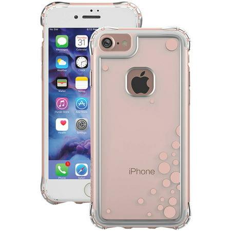 Ballistic JE1738-B49N Apple iPhone 7 Jewel Essence Case, Dancing Bubbles, Rose Gold