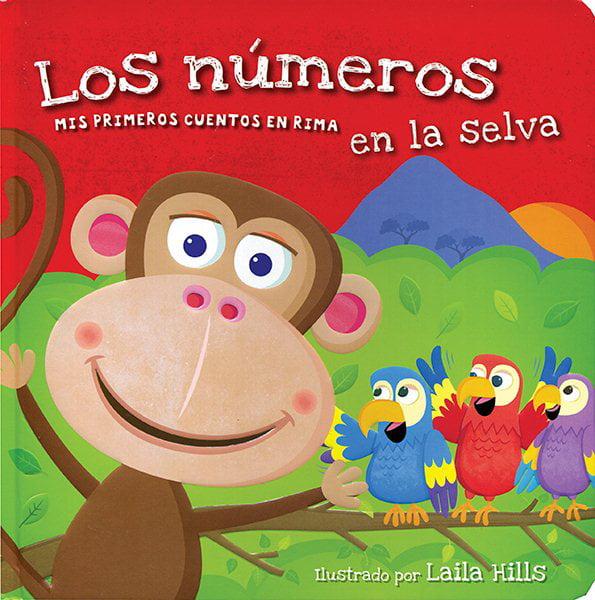 Los números en la Selva / Jungle 123