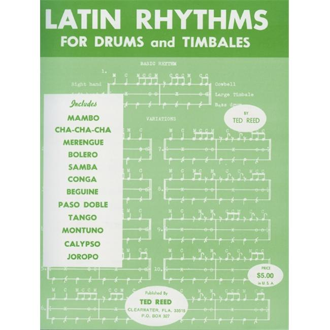 Alfred 00-17312 Latin Rhythms for Drums and Timbales - Music Book