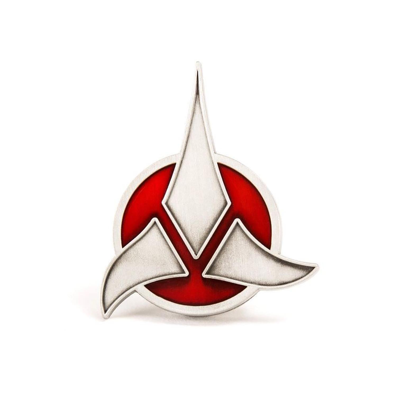 Star Trek Klingon Empire Magnetic Insignia Badge Replica Walmart Com Walmart Com