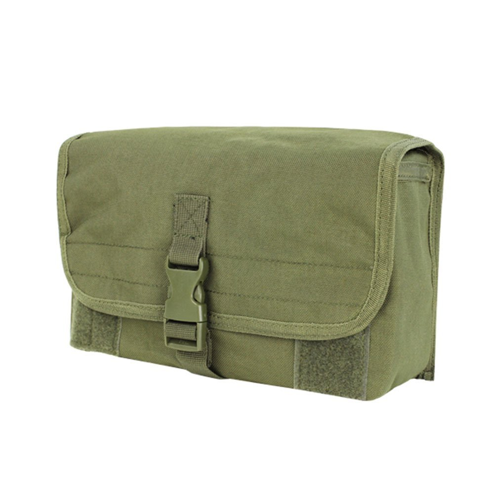 Condor Outdoor MOLLE Gas Mask Pouch (OD), GAS MASK POUCH By Condor Outdoors by