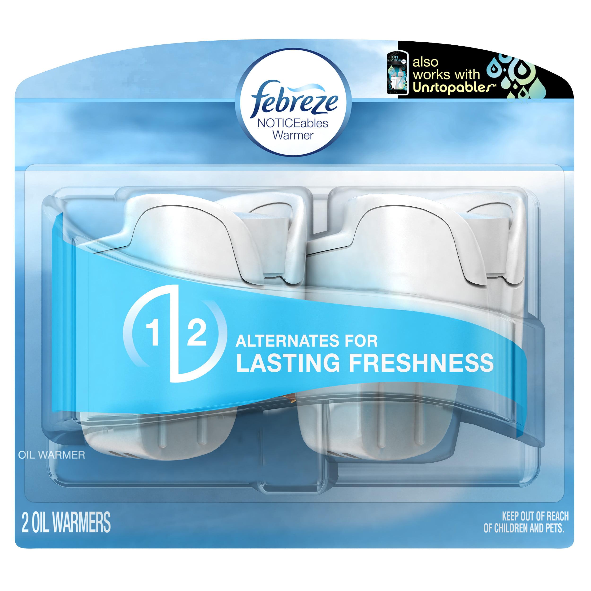 Febreze PLUG Air Freshener Warmers (2 Count)