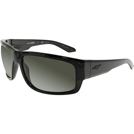 Arnette Men's Polarized Grifter AN4221-41/81-62 Black Rectangle (Arnette Sunglasses Australia Online)