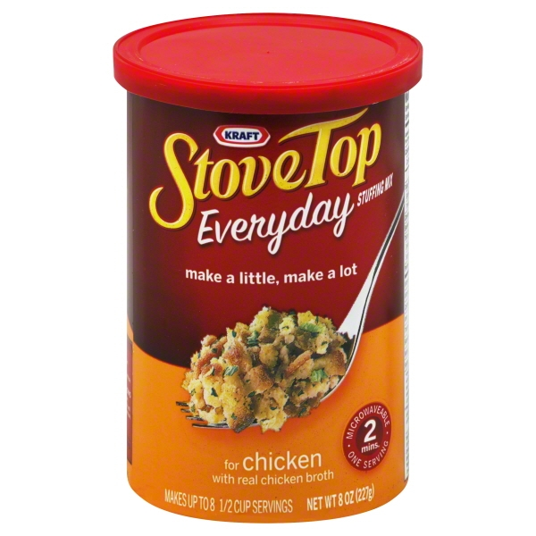 Stove Top Flex Chicken Stuffing 8 Oz