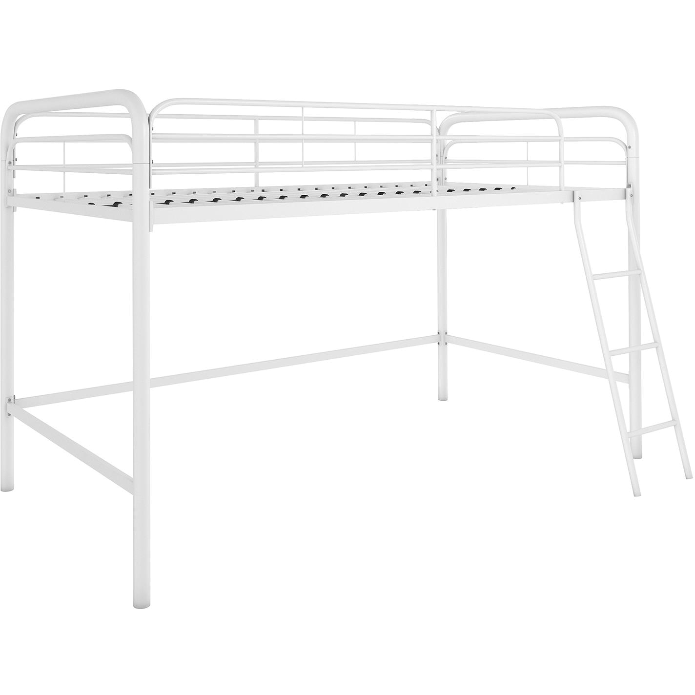 DHP Junior Metal Loft Bed Twin Size Multiple Colors Walmart