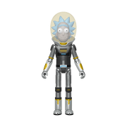 Walmart Exclusive Funko Action Figure: Rick & Morty - Metallic Space Suit Rick