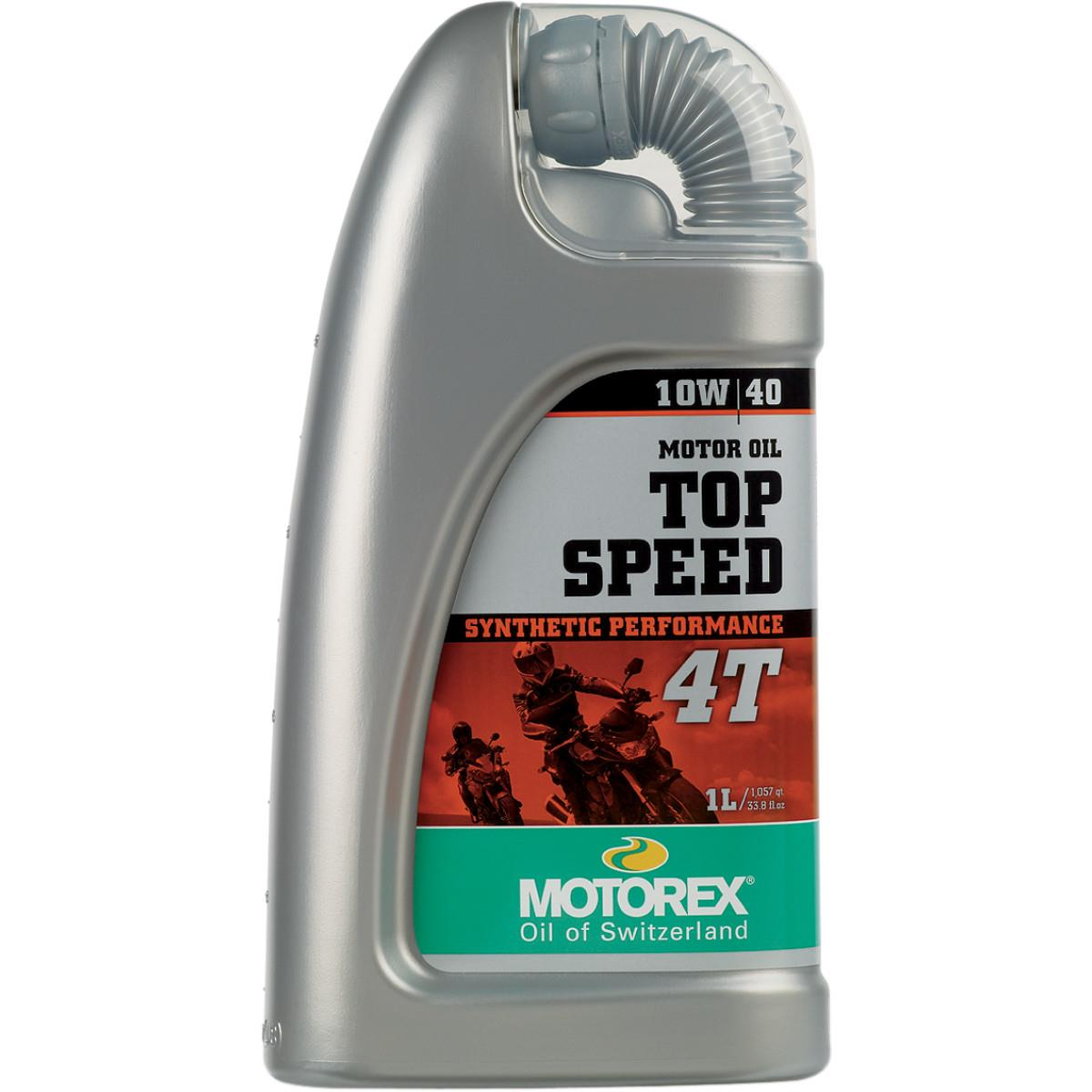 Motorex 102296 Top Speed 4T Oil - 10W40 - 1L.