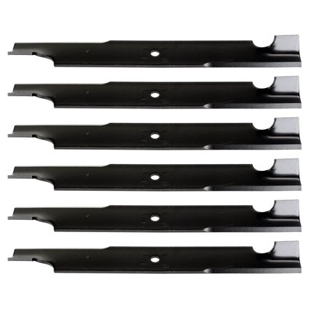 Lawn Mower Parts & Accessories 6 USA Mower Blades® Tooth for Scag