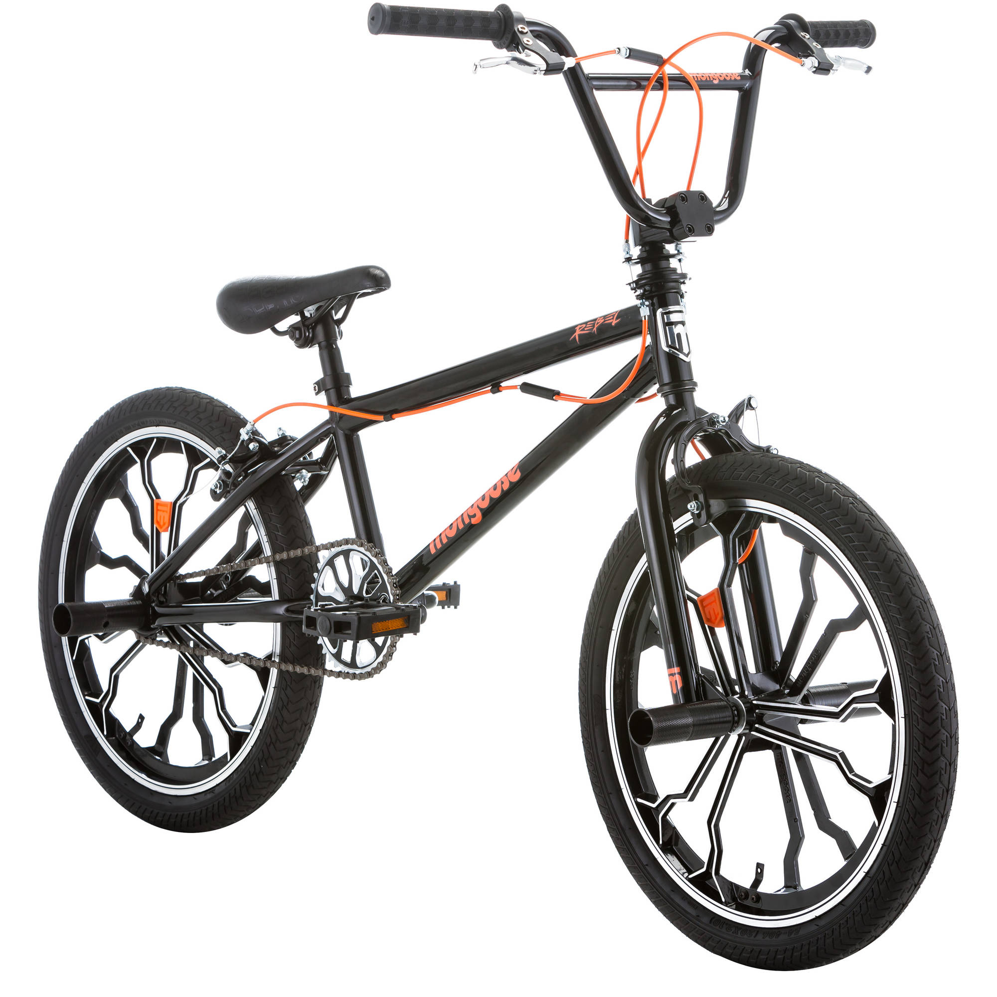 "20"" Mongoose Rebel Freestyle Boys' BMX Bike"