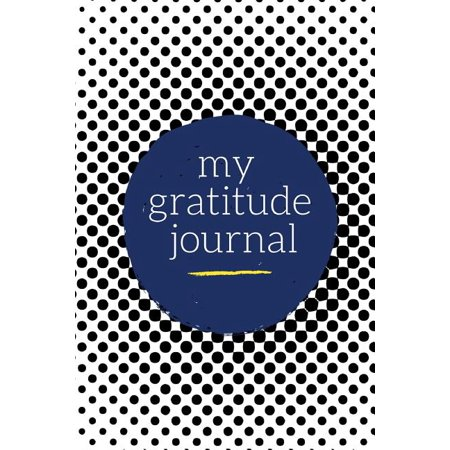 My Gratitude Journal : Choosing Gratitude Daily, Beautiful Black Dots Daily Gratitude JournalKeep up with all of life's daily blessings with this premium gratitude journal. With insightful prompts for morning and night, this makes a wonderful way to express appreciation for things in your life. Also makes a fantastic gift for loved ones!100 pages on white paperHigh-quality matte cover for a professional finishPerfect size at 6  x 9  --- easy to store and carryWonderful as a gift, present, or for personal useGreat for expressing gratitude and thankfulness in your lifeBenefits of Journaling / NotekeepingJoyful Journals(c) understands the powerful benefits associated with journaling and notekeeping. That's why we have created beautiful, high-quality products so you can harness your best self through the use of our notebooks, journals, and diaries. Here are a few of the incredible benefits you can take advantage of by journaling, keeping a diary, or releasing your thoughts on paper.Improves your mindfulnessBoosts creativity and well-beingEnhances emotional intelligenceIncreased goal setting and achievingInner-healing and stress reliefAbout Joyful Journals Joyful Journals(c) believes that we all have something great within. We just have to find it and share it. Through the use of journaling, reflection, and searching, you can find your inner greatness and share it with the world.Joyful Journals(c) creates high-quality journals, notebooks, planners, and diaries for those seeking the best in themselves. With inspiring designs and wonderful products, we hope to help unleash your inner-greatness through words on paper. Everyone has a special story to tell.Give the gift of a beautiful and inspiring journal, notebook, diary, or planner! They are great for any occasion: - Holidays- Birthdays- Weddings- Special Gifts- Ceremonies/EventsWhat Others Are Saying:  Through the advice of a friend, I started journaling 6 months ago. It's allowed me to peacefully release stress from work