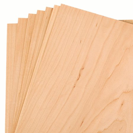 "Maple Veneer 8"" x 8"", 7-Piece"