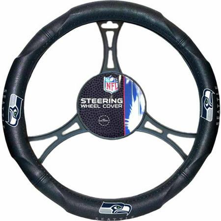 NFL Steering Wheel Cover, Seahawks (Seahawk String Lights)