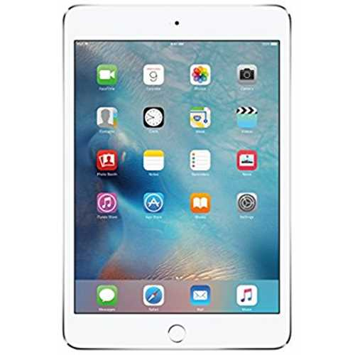 Refurbished Apple iPad mini 4 (64GB, Wi-Fi + Cellular, Silver)