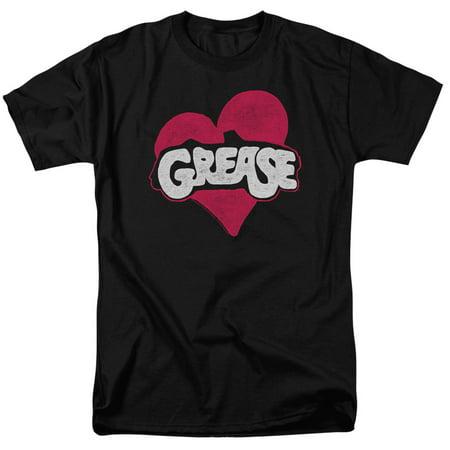 Grease - Heart - Short Sleeve Shirt -