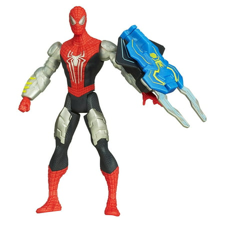 Marvel Amazing Spider-Man 2 Spider Strike Slash Gauntlet Spider-Man Figure 3.75 Inches, Slash Gauntlet Spider-Man figure comes armed with a gauntlet By SpiderMan Ship from US](The Amazing Spiderman Gloves)