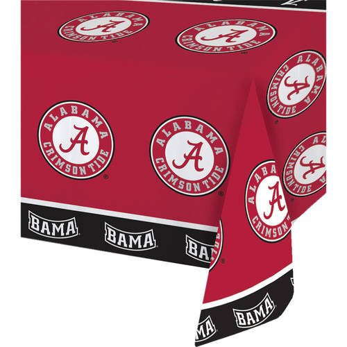 Alabama Crimson Tide Table Cover