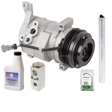AC Compressor w/ A/C Repair Kit For Hummer H3 & H3T
