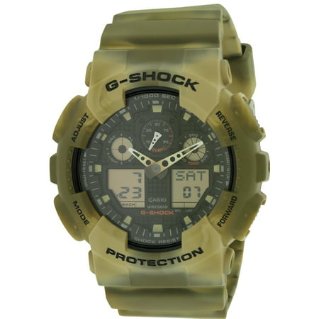 G-Shock Marble Camouflage Mens Watch - 13 Mm Front Shock