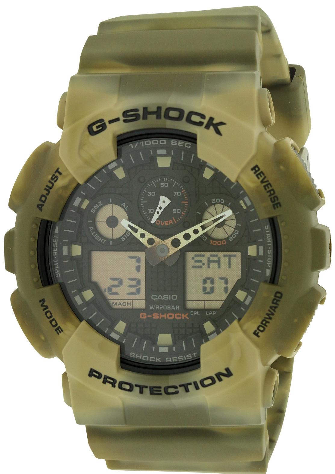 G-Shock Marble Camouflage Mens Watch GA100MM-5ACR