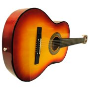 """38"""" Starter Acoustic Guitar with Performer Package - Cherry Sunburst"""