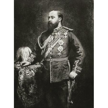 Edward Prince of Wales future Edward VII 1841 Canvas Art - Ken Welsh Design Pics (13 x 17)