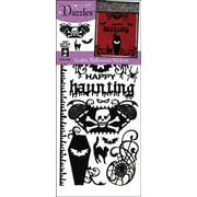 Dazzles Stickers-Black Gothic Halloween