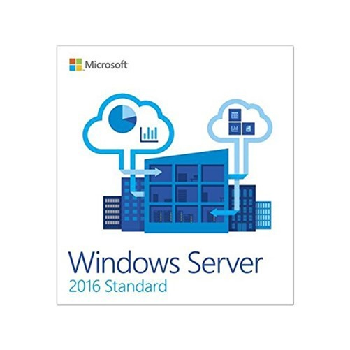 Microsoft Windows Server 2016 Standard 64-bit Software, 5 CAL, DVD-ROM (P73-07041) by Microsoft