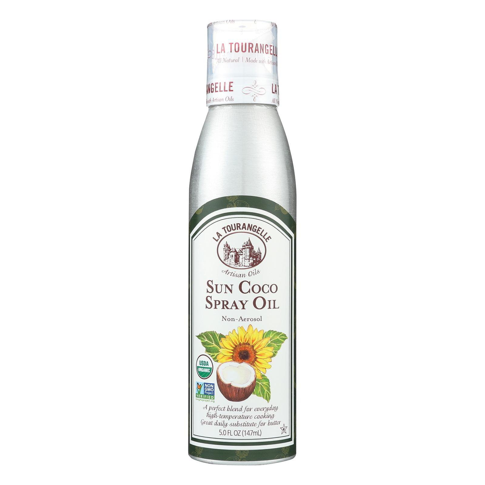 La Tourangelle Sun Coco Oil - Case Of 6 - 5 Fl Oz.