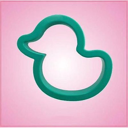 Teal Rubber Ducky Cookie Cutter ()