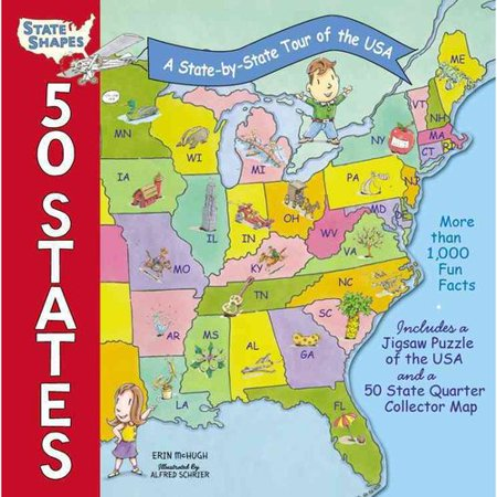 50 States: A State-by-State Tour of the USA by
