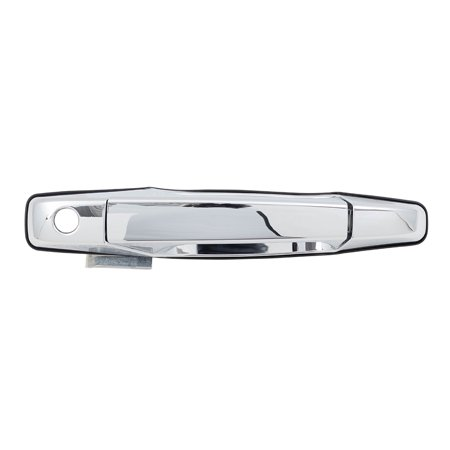 BROCK Outside Outer Chrome Door Handle Drivers Front Replacement for Cadillac Chevrolet GMC Pickup Truck SUV 22738721 93 Truck Front Door