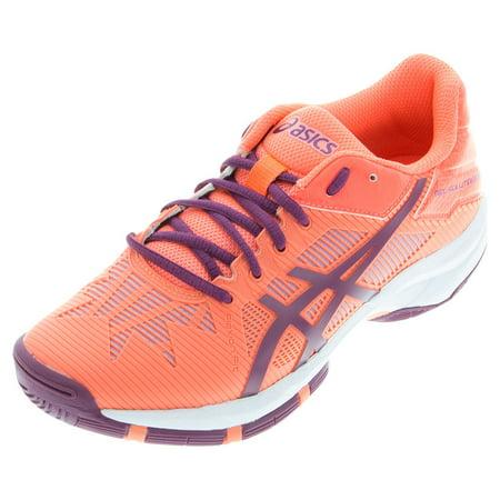 4f8d1e4d7974 ASICS - Juniors` Gel-Solution Speed 3 Tennis Shoes Flash Coral and Plum -  Walmart.com