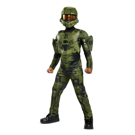 Halo Master Chief Deluxe Costume - Halo Covenant Costumes
