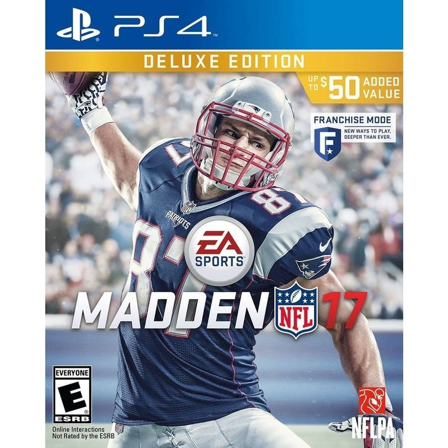 Madden NFL 17 Deluxe (PS4)