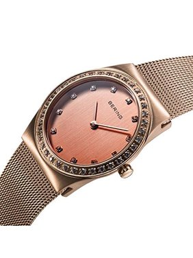7241081b7a1 Product Image Women s 30mm Pink Steel Bracelet   Case S. Sapphire Quartz Analog  Watch 12430-366. Bering