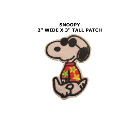 Cartoon Peanuts Snoopy Joe Cool Iron or Sew-on Patch