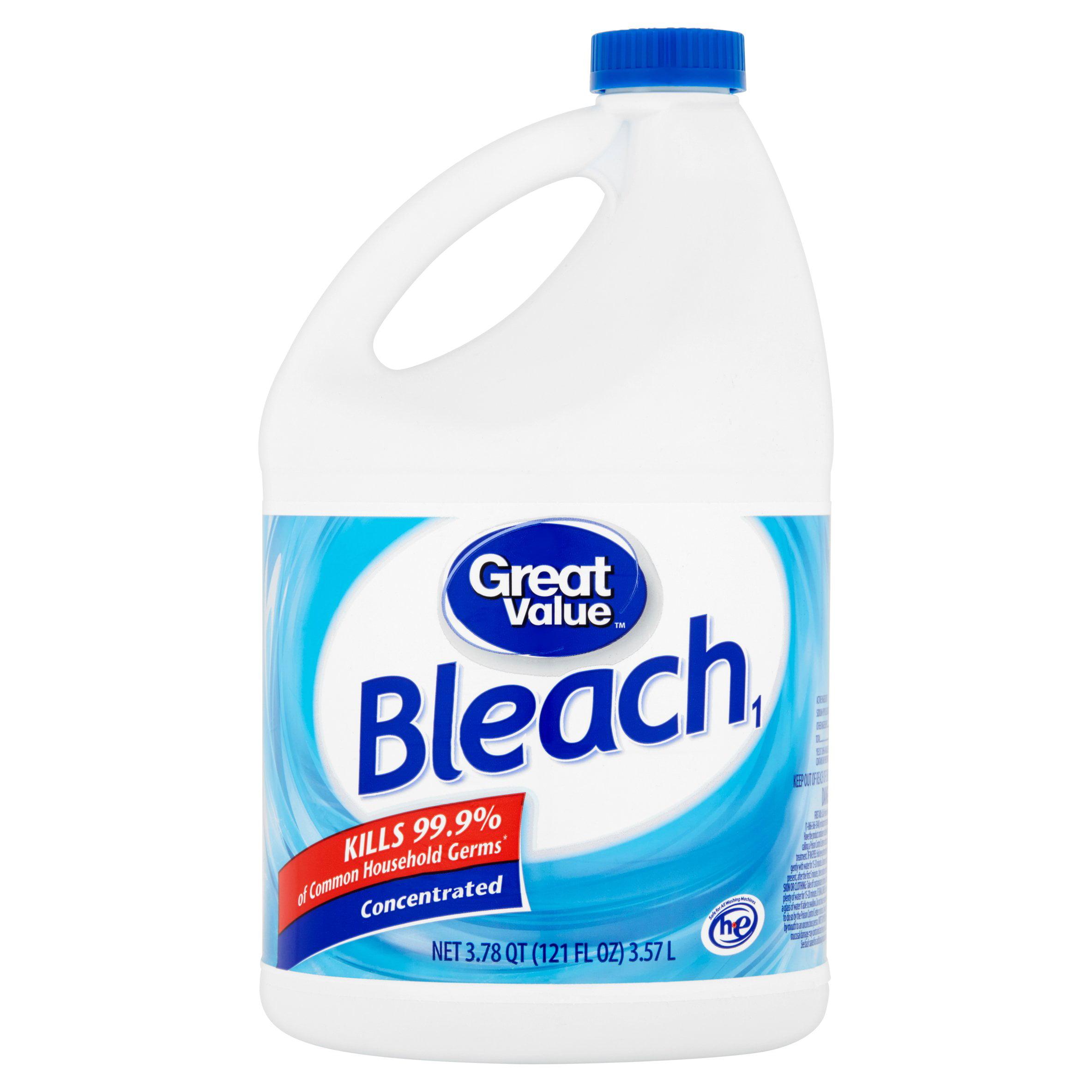 Great Value Bleach, 121 fl oz