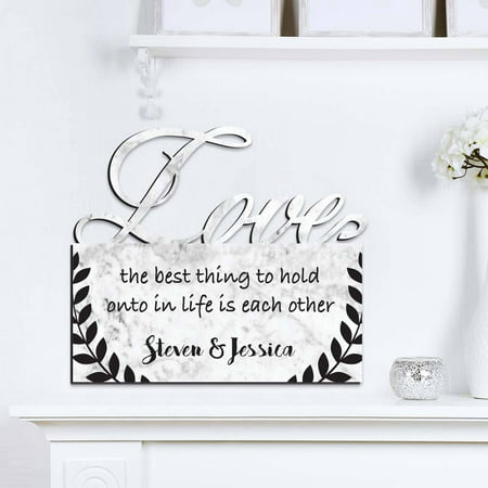 The Best Thing Personalized Love Wall Sign, 13.75