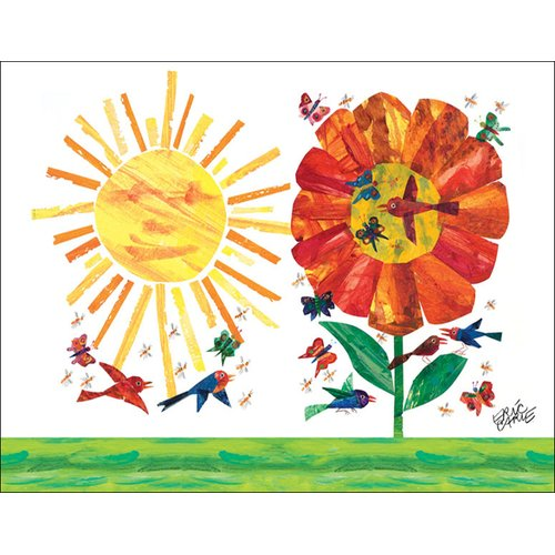 Oopsy Daisy Garden by Eric Carle Canvas Art