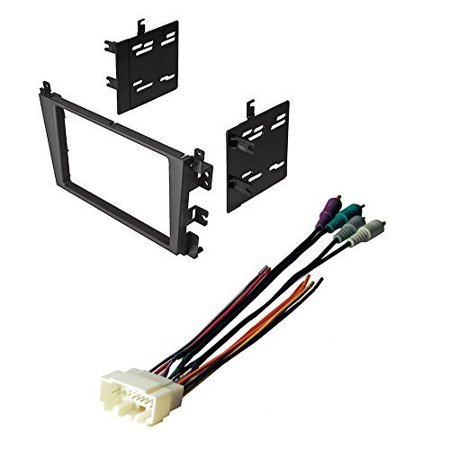 - ACURA CL TL CAR STEREO RADIO DASH INSTALLATION MOUNTING KIT W/ WIRING HARNESS