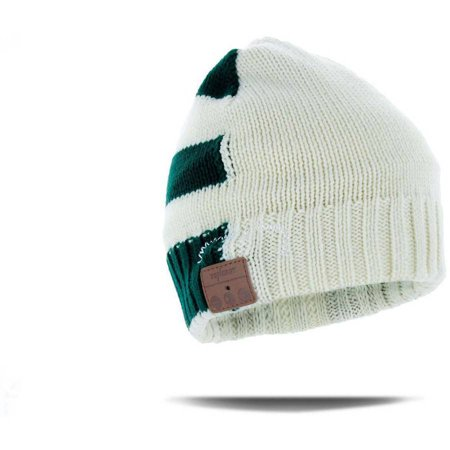 Tenergy Bluetooth Beanie Line Rib Knit