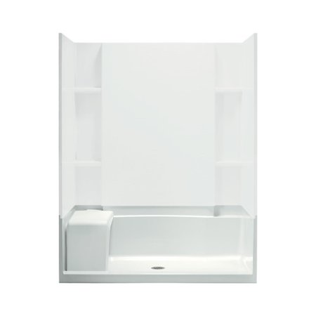 Sterling White Accord Seated Shower Receptor Product Picture