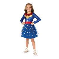 Rubies Deluxe Captain Marvel Girls Halloween Costume