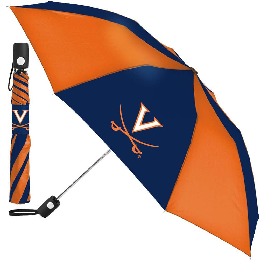 Virginia Cavaliers Umbrella - Auto Folding